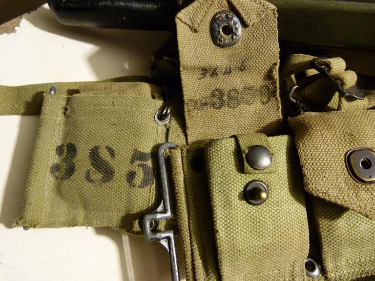 Marquage de l'équipement P010