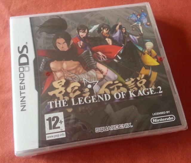 Gagnez THE LEGEND OF KAGE 2 sur DS ! Legend10