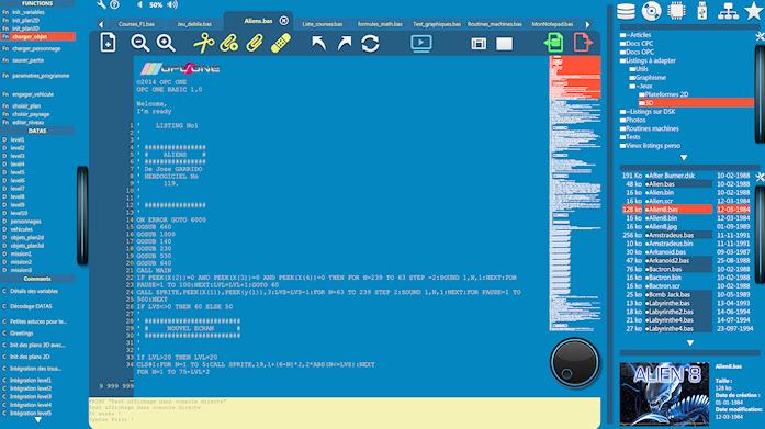 OPC ONE : le retour de l'Amstrad CPC !!!! Opc_ba10
