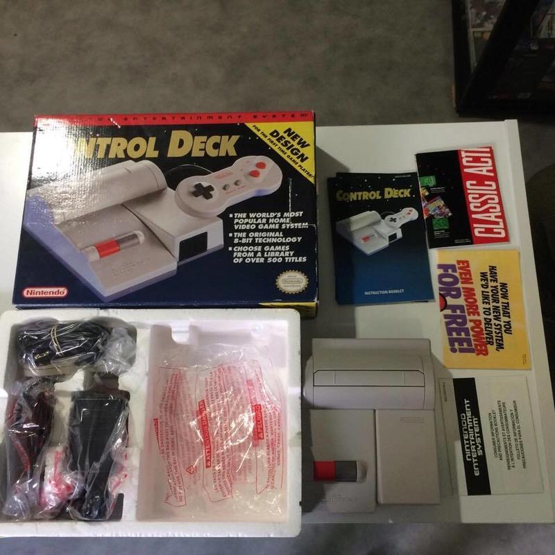 Console Nintendo Nes US en boite Comme neuve 18816911
