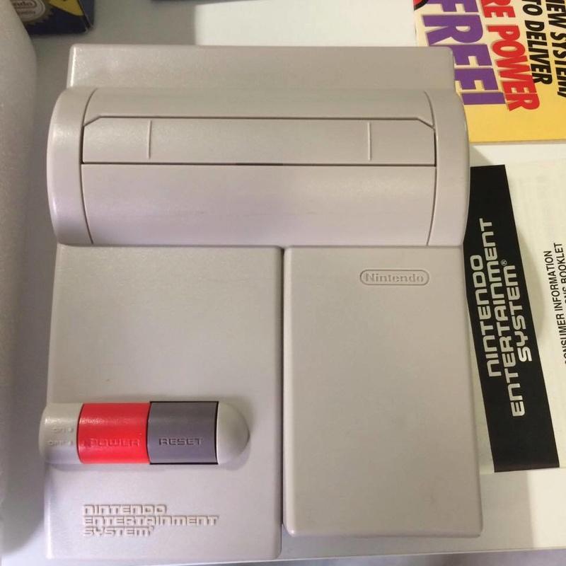 Console Nintendo Nes US en boite Comme neuve 18835211
