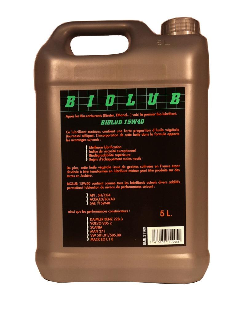 De l'huile , encore de l'huile ! lol - Page 3 Biolub10