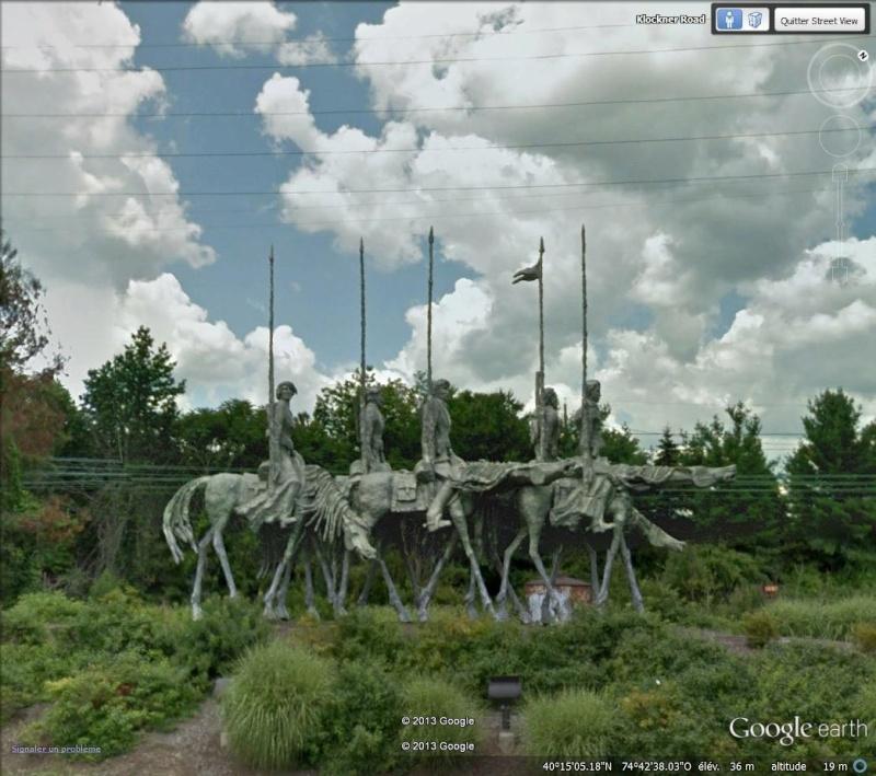 Sculptures diverses, Trenton, New Jersey Chevau10