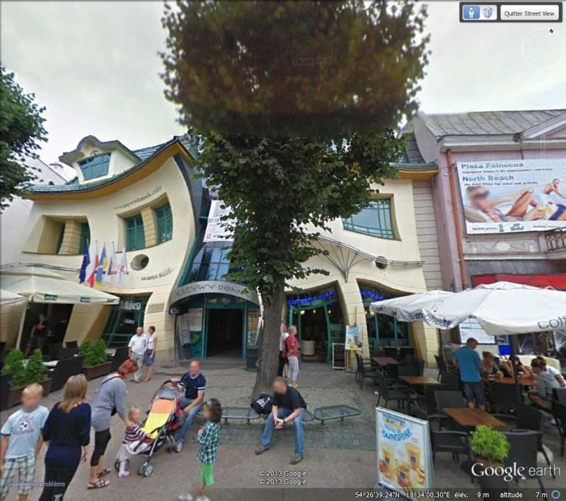 Maison tordue à Sopot - Pologne Crooke10