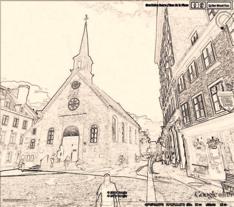 STREET VIEW en version pinceaux, fusain et crayons - Page 2 Dessin10