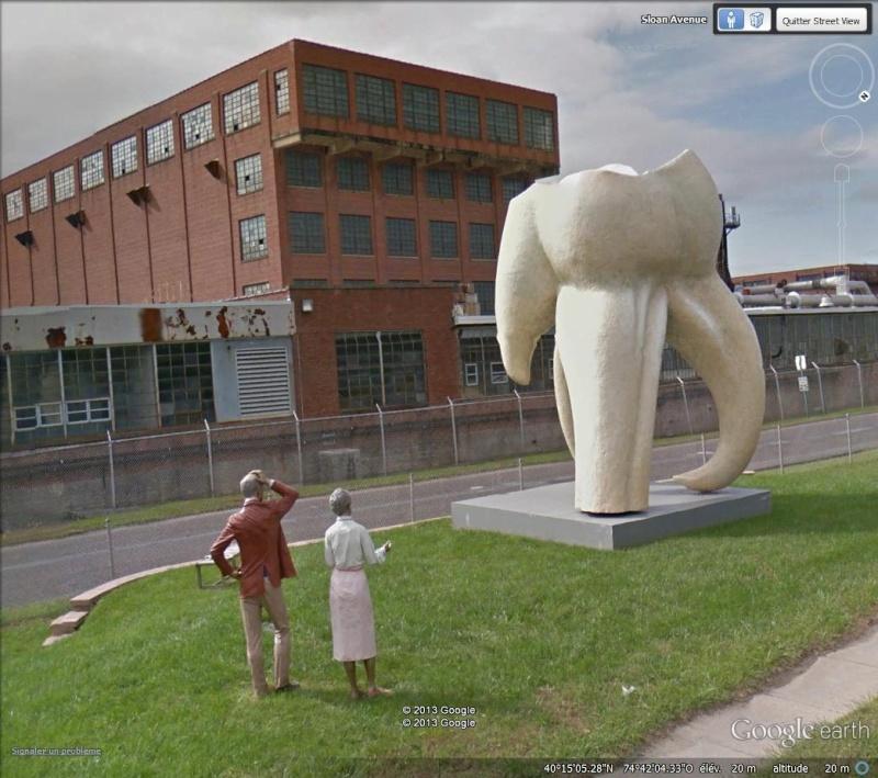 STREET VIEW :  objets, animaux et autres en version géante - Page 3 Molair10