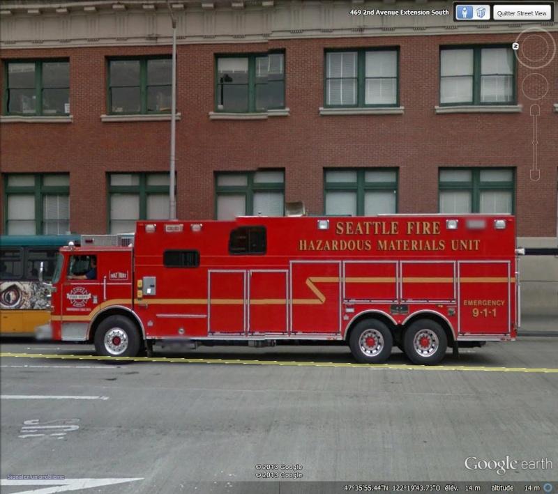STREET VIEW : les camions de pompiers  - Page 5 Seattl10