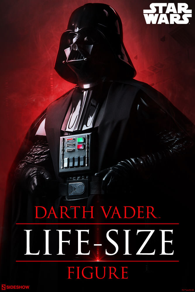 Sideshow Collectibles Darth Vader Life-Size Figure (2017) Star-w10