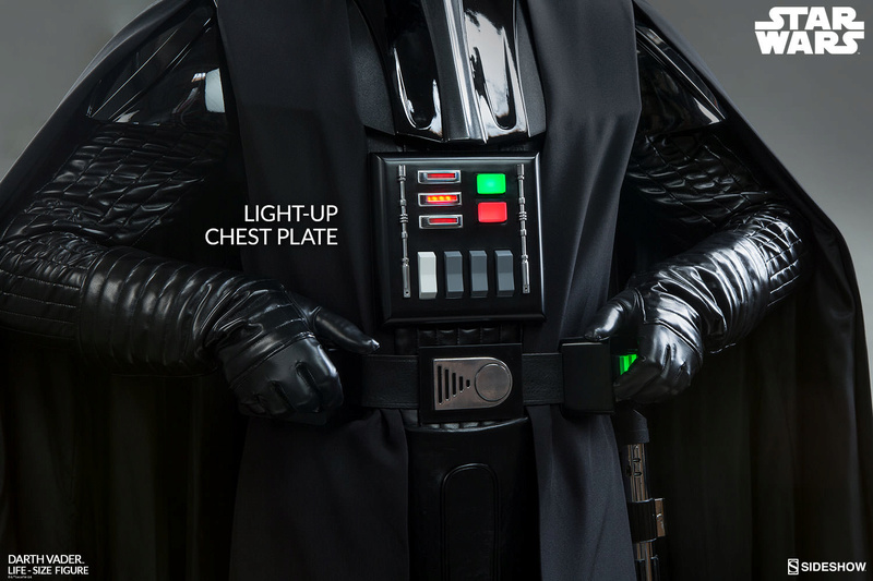 Sideshow Collectibles Darth Vader Life-Size Figure (2017) Star-w23