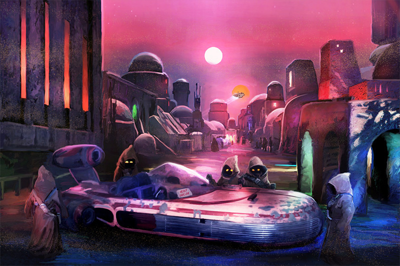 Artwork Star Wars A New Hope - ACME - You'll Have to Sell... Swanh711