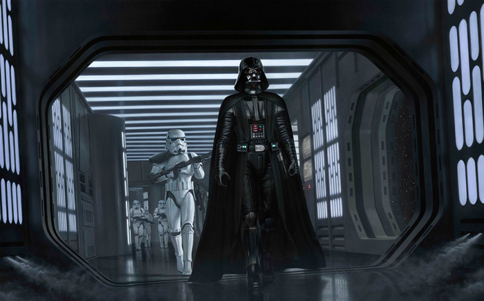 Artwork Star Wars A New Hope - ACME - A Presence I've Not... Swanh712