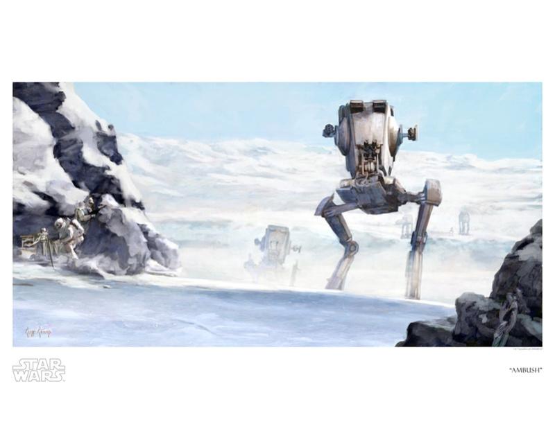 Artwork Star Wars ESB - ACME - Ambush Swesb810