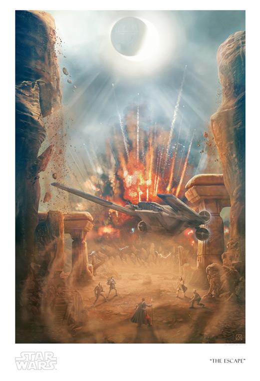 Artwork Star Wars Rogue One - ACME - The Escape Swr75711