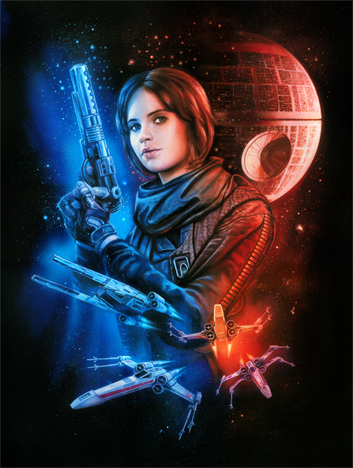 Artwork Star Wars Rogue One- ACME - Mission for Hope Swr76910