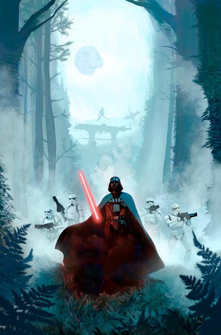 Artwork Star Wars ROTJ - ACME - Vengeful Pursuit Swrji712