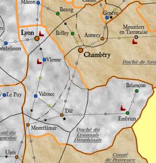 Informations sur le Lyonnais-Dauphiné Carte_10