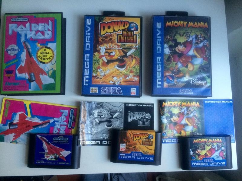EST petit lot game gear et qques jeux MD Image15