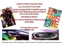 Le street art s'invite au conservatoire Citroën Conser10
