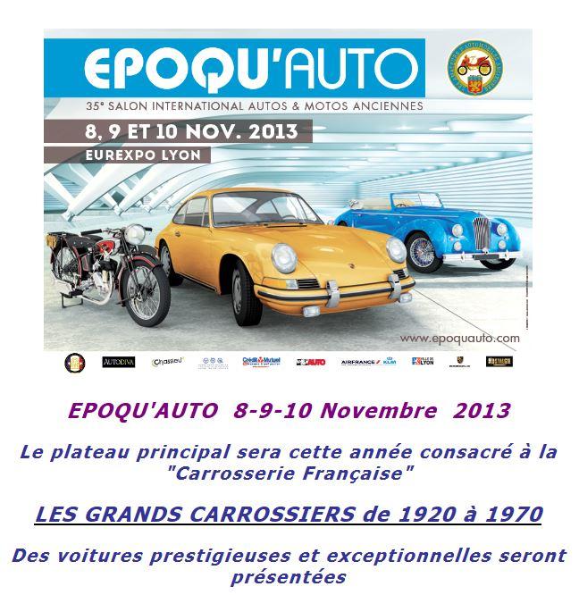 Billets à tarif réduit salon Epoqu'AUTO  2013 Epoqua12