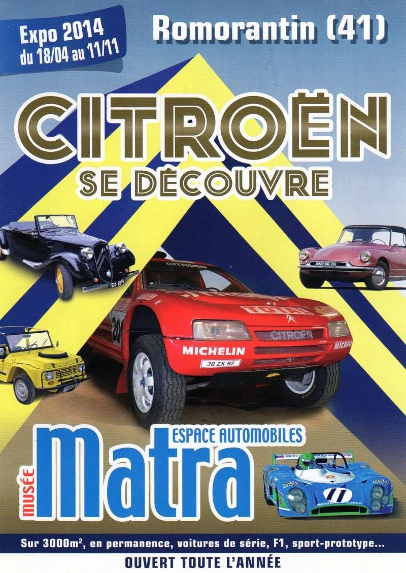 Expo Citroen au musée Matra 18/04 au 11/11- 2014 Img12010