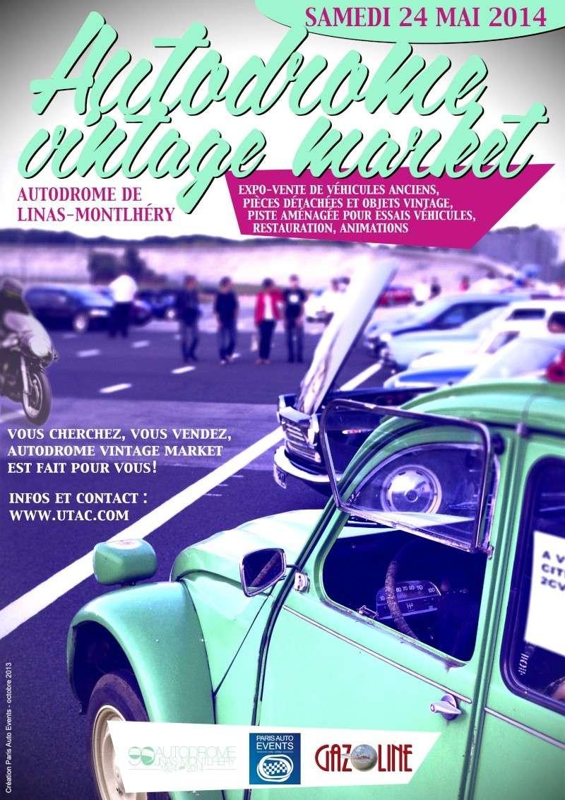1er Marché de l'auto de Monthléry 24-05-2014 Vintag12