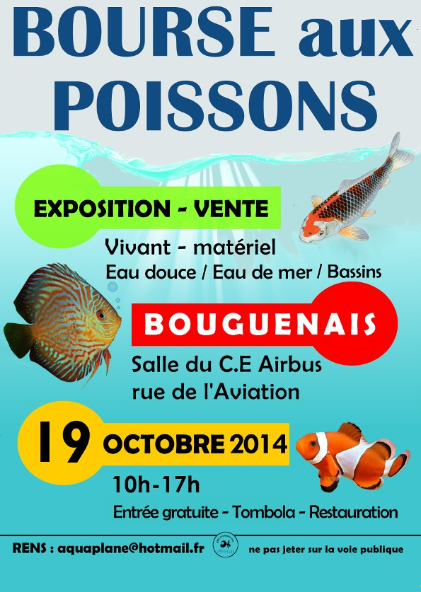 Bourse aquariophile de Nantes (44) Affich16