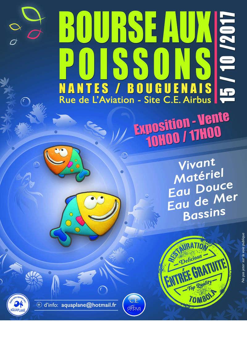 Bourse aquariophile de Nantes (44), 15 octobre 2017 Affich20