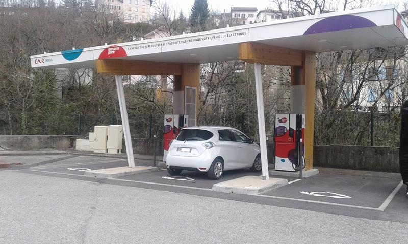 Station de recharge de la CNR à Bellegarde sur Valserine 20170310