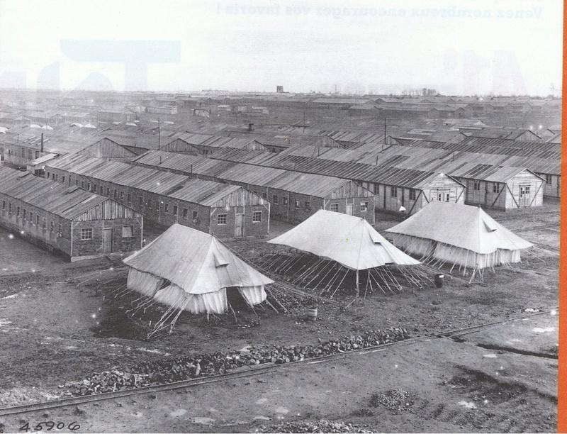 Première guerre mondiale, commémoration de la création 129 hôpitaux de campagne américains Camp_m10
