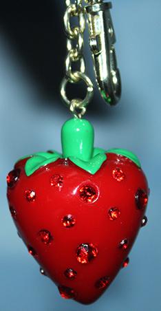 Mon joli porte-clés fraises Porte-10