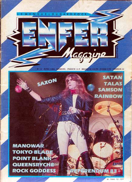 Saxon et la presse Enfer_10