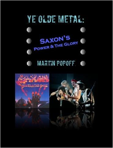 Ye Olde Metal: Saxon's Power & The Glory Martin10