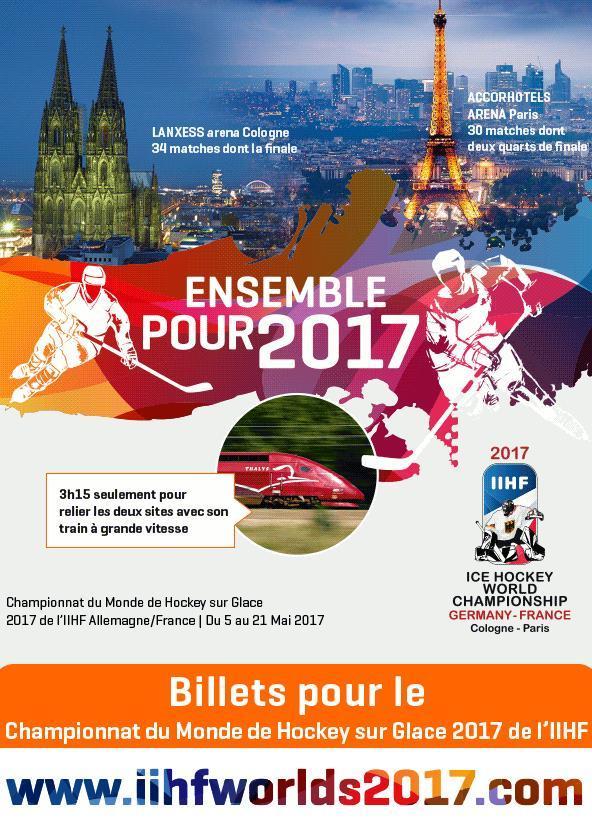 Championnats du Monde de Hockey sur Glace 2017 Billet11