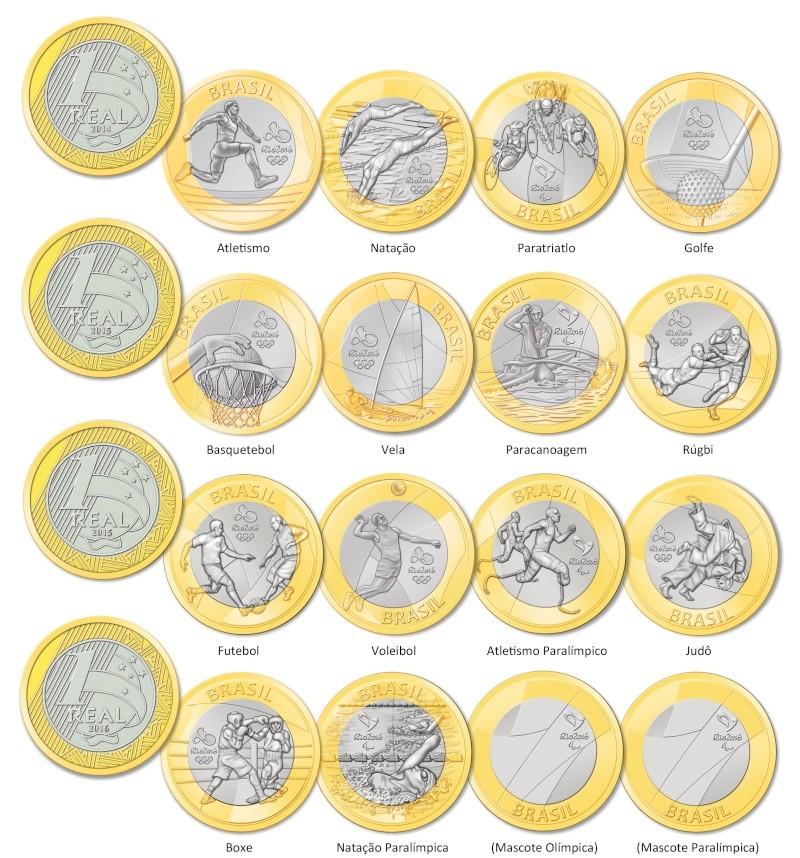 Les monnaies commémoratives des Jeux Olympiques et Paralympiques Rio 2016 Bimeta10