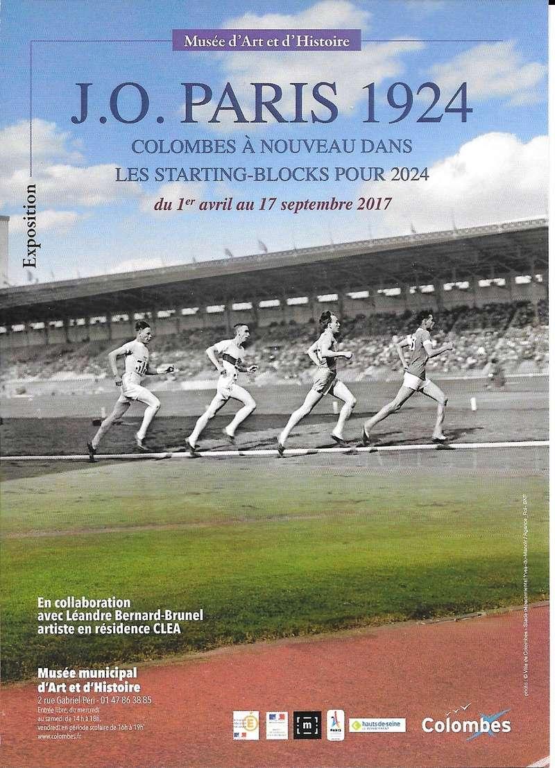 Expo. J.O. PARIS 1924 Colombes J_o_pa10