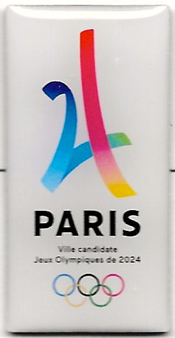 Pin's candidature PARIS 2024 Paris_15