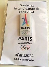 Pin's candidature PARIS 2024 S-l30010