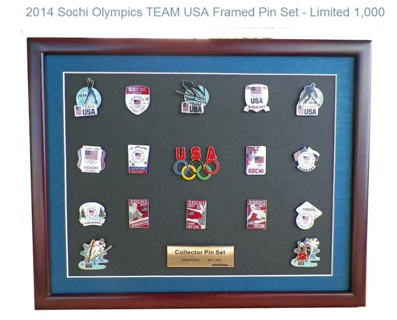 Pin's USA pour Sotchi 2014 Sotchi10