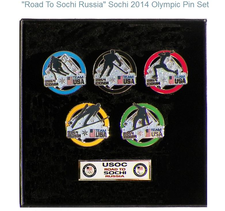 Pin's USA pour Sotchi 2014 Sotchi11