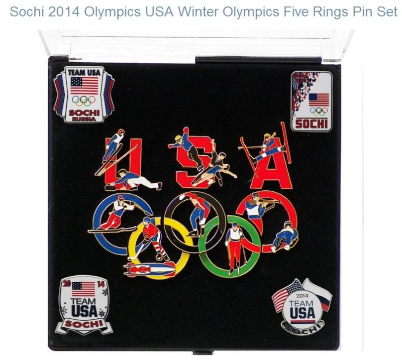 Pin's USA pour Sotchi 2014 Sotchi12