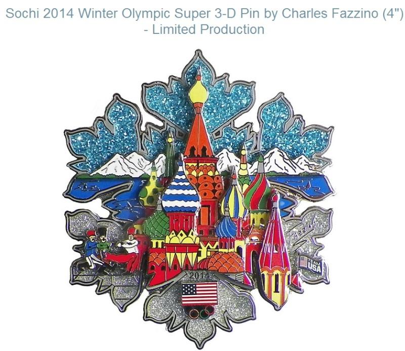 Pin's Sochi 2014 (Sotchi 2014) Sotchi17