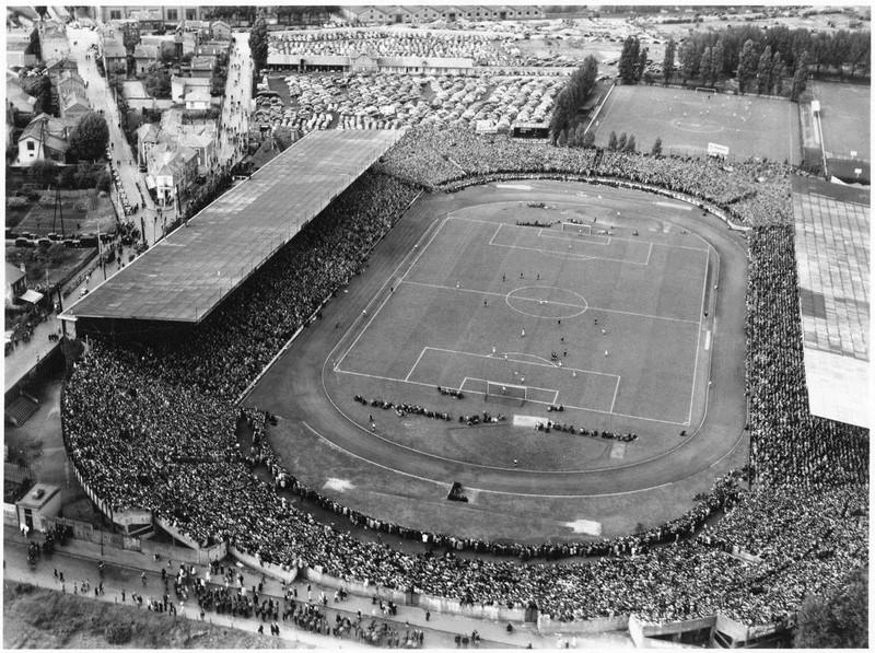 France / Espagne de foot Stade_11