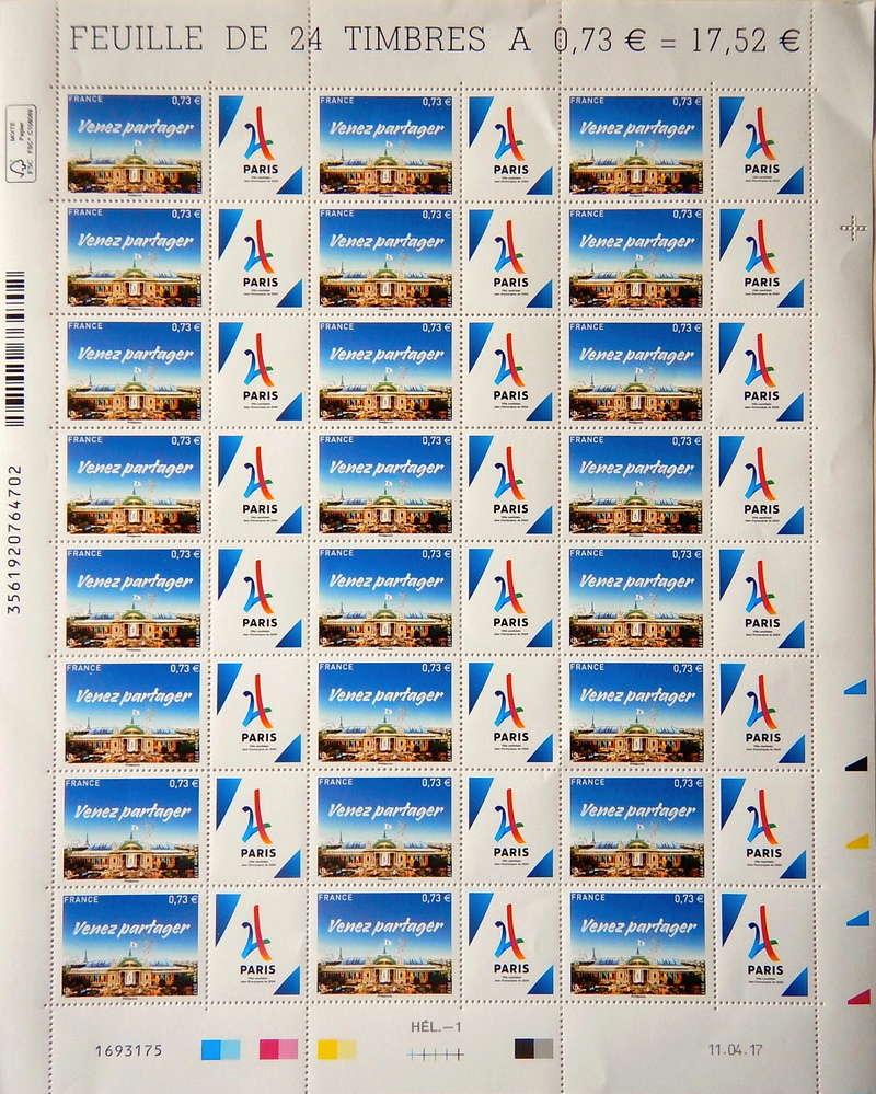 TIMBRE PARIS 2024 Timbre12