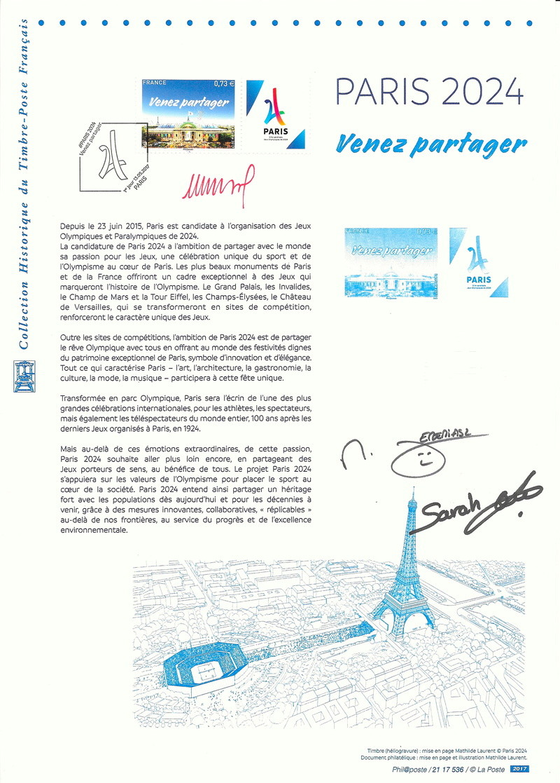 TIMBRE PARIS 2024 Timbre13