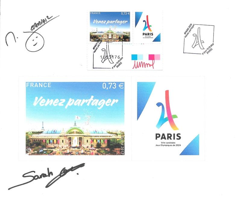 TIMBRE PARIS 2024 Timbre16