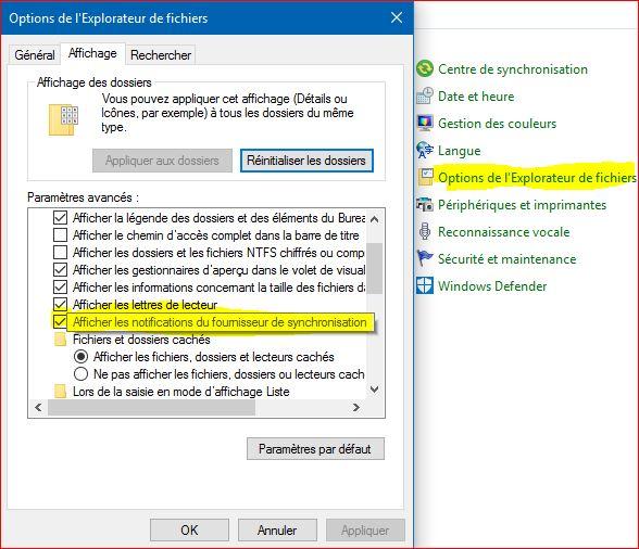 Microsoft fait sa publicité dans l'Explorateur de fichiers Explor10