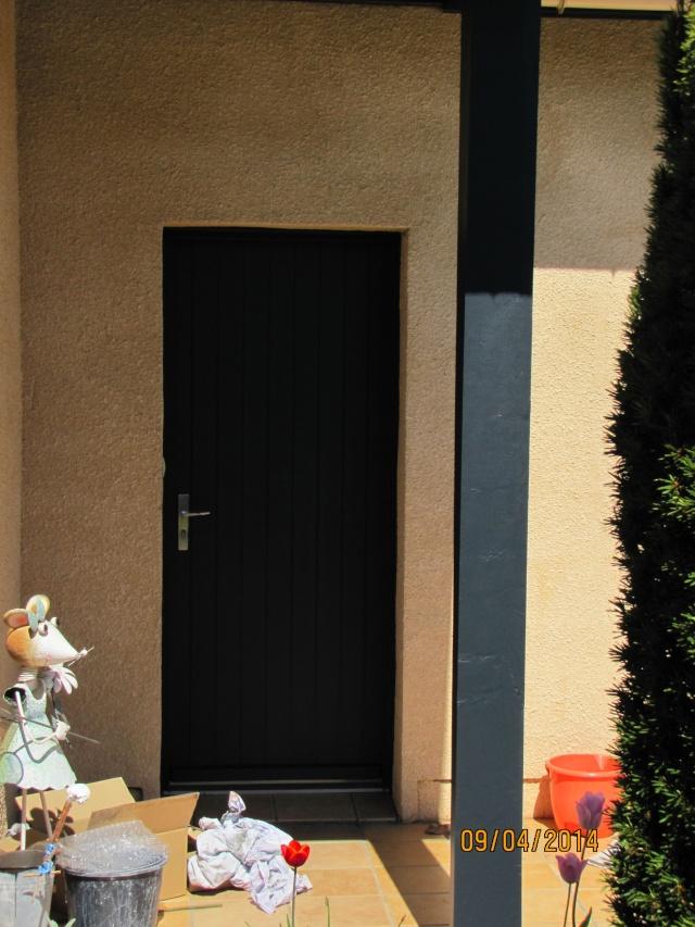 Au tour de la porte d'entrée! Img_6311