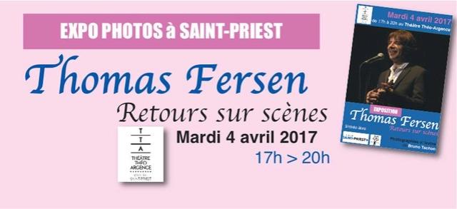 """""""Retours sur scènes"""", mon expo consacrée à Thomas Fersen à Saint-Priest le 4 avril Flyer_10"""
