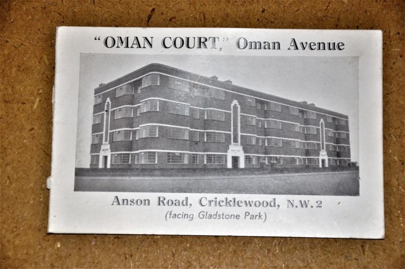 CP Publicitaire. Oman Court Oman Avenue Cricklewood Dsc_0023
