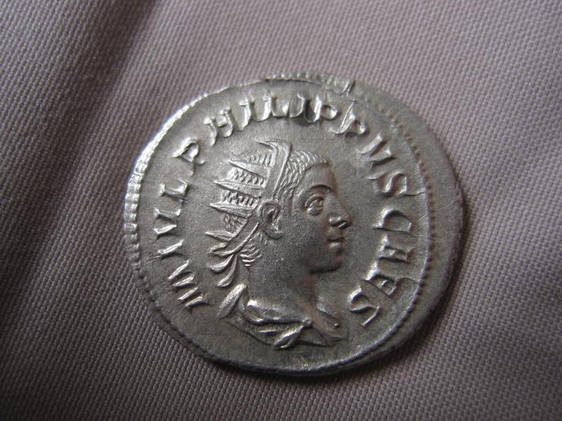 un antoninien de philippe II Img_1611